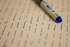 Letters to Alice (TheWrongDroid) Tags: writing written blue pen words aliceinwonderland