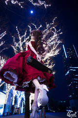 going to a night recital (cnvl) Tags: doll volks dd dollfie 森川由綺 yuki morikawa cnvl winter night strobe yokohama sony a99 sal1635z 16mm
