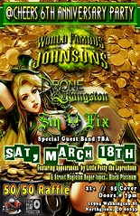 Cheers 6th Anniversary Party (WorldFamousJohnsons) Tags: saintpattysparty worldfamousjohnsons worldfamous famousjohnsons wfj wfjs wfjohnsons dronelivingston sinfix magic gold fireball fireballgirls bands rockbands livemusic livebands liveconcert concert concerttickets rockandroll metalmusic march2017 party birthdayparty birthday music musicporn stpatricks graphicsbyvictor renodivorce brentloveday tickets ticketlink eventtickets comingsoon