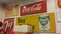 20161227_180021 (rolyrol1982) Tags: coca cola 7up quaker state oil old vintage retro classic