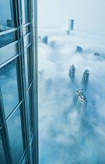 (yeeship) Tags: burjkhalifa dubai atthetop fuji fog mist travel