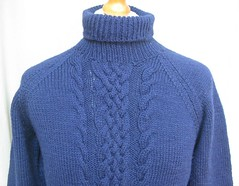 Blue sexy cozy wool turtleneck (Mytwist) Tags: vintage hand knitted navy blue polo neck fisherman style jumper lunar10128 turtleneck rollneck rollkragen handgestrickt heavy big collor collar wool fetish fashion fuzzy grobstrick bulky retro rollerneck design laine jumpers passion pulli timeless cozy classic