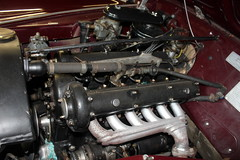 1948 Alfa Romeo  6C 2500 Sport Freccia D'Oro, the engine (Davydutchy) Tags: car collection private privé sammlung collectie automobile auto automobiel bil voiture pkw klassiker classic alfa romeo 6c 2500 freccia doro sport engine motor moteur welsum trn nieuwjaarsborrel january 2017