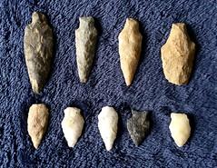 To the point  .  .  . (ericrstoner) Tags: projectilepoint arrowhead stone pedra lancastercounty pennsylvania stonetool farm lithics lancaster