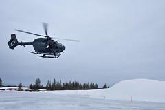 Kälteerprobung H145M (Offizieller Auftritt der Bundeswehr) Tags: kälteerprobung h145m schnee kälte eis wetter flug airbus 7609 hubschrauber helikopter luftwaffe hubschraubergeschwader64 kältetest h145mluhsof leichtermehrzweckhubschrauber test testen