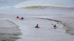 John Muir — 'In every walk with Nature one receives far more than he seeks.' (genevieve van doren) Tags: breskens netherlands paysbas canoe frends amis sea mer wave vague northsea merdunord