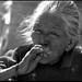 old lady from Patan(Nepal), smoking
