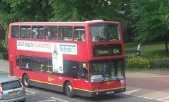 London General PVL287 on route 154 Sutton Green 05/06/15. (Ledlon89) Tags: bus london transport surrey sutton londonbus tfl londongeneral goaheadlondon bsues