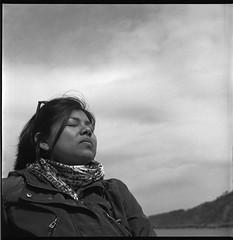 S (imanol6x6) Tags: portrait blackandwhite bw 120 6x6 film eh rolleiflex mediumformat square kodak trix 400 mf nophotoshop sansebastian donostia trl 28f