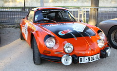Renault Alpine (Thethe35400) Tags: auto car cotxe coche automobile voiture carro bíll bil princesse rallye samochód rouge red rojo vermelho rosso rot carr orange