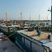 Muitos barcos de pescadores
