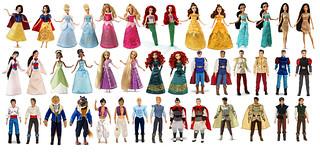 New 2015 Disney Store Classic Dolls