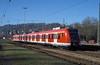 423 006 Tübingen  15.11.98 (w. + h. brutzer) Tags: analog train germany deutschland nikon eisenbahn railway zug trains db 423 et tübingen eisenbahnen triebwagen triebzug triebzüge webru