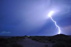 Electric sky (Great Salt Lake Images) Tags: summer utah antelopeisland greatsaltlake lightning ladyfinger bridgerbay