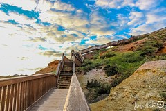 Southport stairs. (jorin_arch23) Tags: beach stairs canon adelaide southaustralia southport beginner 1200d