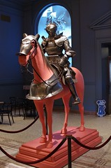 Armour for horse and man (THoog) Tags: massachusetts armor armour worcester armatura armadura armure rstung higginsarmory worcesterartmuseum thoog