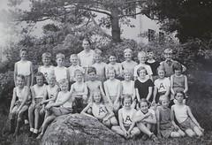 Norra ngby Folkskola, klass 4c, vrterminen 1937 (Olle Sundh) Tags: stockholm norra skola klass bromma svv skolfoto ngby folkskola skolbarn vultejusvgen