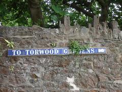 Torquay Blue Tile Street Signs (wirewiper) Tags: torquay bluetile devon torbay
