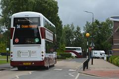 555 & 733 (Callum's Buses & Stuff) Tags: bus buses edinburgh led b5 hybrid lothian madder riccarton lothianbuses edinburghbus madderandwhite madderwhite b5tl sn55bnj busesedinburgh sa15vuf