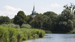 Zuiderwoude , village in Waterland , Holland (dirk huijssoon) Tags: holland church kerk waterland zuiderwoude