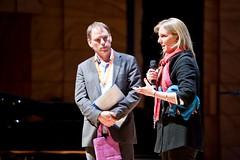Michael Pope MC & Stephanie Woollard, Scholarship Winner