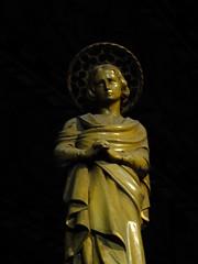 Saint in Contemplation (failing_angel) Tags: sculpture saint statue joseph francis bath charles somerset stjohn justina stjohnschurch stjohntheevangelist hansom romancatholicchurch 120914 hansombaptisterysaint paduaedward