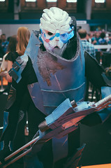 Garrus (doesnotcompute) Tags: portrait game cosplay videogame comicon masseffect garrus