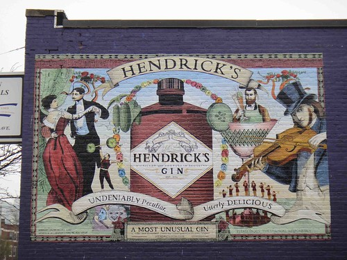 Hendricks Painted Wall