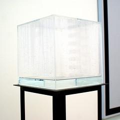 Condensation Cube  Hans Haacke (josierustle) Tags: london modern tate hans cube haacke condendation