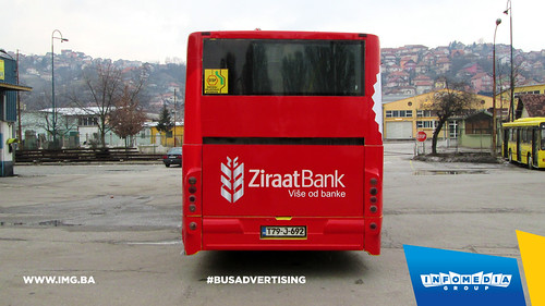 Info Media Group - Ziraat Bank, BUS Outdoor Advertising, Sarajevo 03-2015 (4)