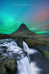 The Gift (FredConcha) Tags: fredconcha iceland stars northernlights aurora nature landscape waterfall nikon d800 kirkjufell mountain wow