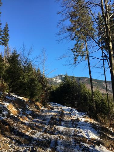 Silvestr Lysá prales a Mazák ledopád