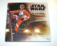 star wars in pictures 4 book box set ryder windham and brian rood disney 2016 c a new hope (tjparkside) Tags: star wars pictures 4 book box set 2016 disney lucasfilm isbn 9781760128456 episode four five six seven iv v vi vii 5 6 7 anh new hope empire strikes back tesb esb rotj return jedi force awakens tie fighter fighters millennium falcon rey jakku scavenger bb 8 bb8 droid luke skywalker sail barge tatooine darth vader bespin outfit cloud city x wing xwing pilot illustrator brian rood author ryder windham