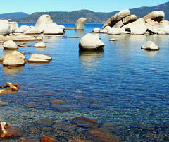 Bouldered Bay, Lake Tahoe, NV 9-10 (inkknife_2000 (7.5 million views +)) Tags: laketahoe nevada usa landscapes lakes rocksinwater deepblue dgrahamphoto sandharbor bluewater boulders bouldersinwater clearwater