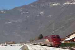 PBA rénové pour BSM (Maxime Espinoza) Tags: thalys pba pbka rénové 4500 4539 bourg saint maurice neige train tgv grande vitesse