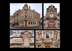 Barnsley in Polyptych (#8) - The old Yorkshire Bank Building (S.R.Murphy) Tags: barnsley barnsleyinpolyptych building architecture historicalbuilding history heritage england yorkshire stuartmurphy fujixt2 bank