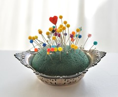 Pin Cushion (JSteelPhoto) Tags: needles pin cushion sewing