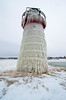 White Ice (Tom Gill.) Tags: ice frozen lighthouse pier michigan lake lakemichigan greatlakes southhaven lighthousetrek