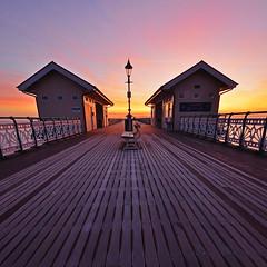Penarth pier sunrise[EXPLORED] (neath stan the man[on a break]) Tags: d7000 nikon 1020 sigma southwales penarth coast