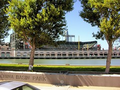 China Basin Park (joe Lach) Tags: chinabasinpark attpark mccoveycove sanfranciscobay trees park sanfrancisco giants baseball stadium california joelach