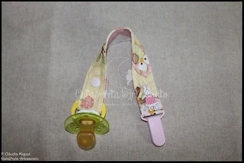 """Conjunto de maternidade """"Mochinhos na Primavera"""""""