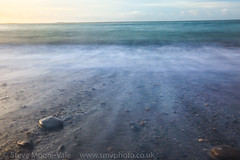 Aberystwyth colours (Steve Moore-Vale) Tags: aberystwyth wales sea long exposure colours motion pastels art
