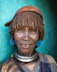 ethiopia - omo valley (mauriziopeddis) Tags: africa etiopia ethiopia benna omo valley river ritratto portrait reportage leica canon people tribe tribal
