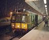 121034 (R~P~M) Tags: train railway dmu diesel multipleunit 121 chilternrailways princesrisborough bucks buckinghamshire england uk unitedkingdom greatbritain night snow