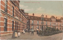Ansichtkaart Wilhelminaplein Gorinchem (Barry van Baalen) Tags: gorinchem gorcum gorkum ansicht ansichtkaart postcard houses wilhelminaplein