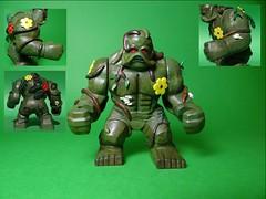 Lego Swamp Thing (Sir Doctor) Tags: lego swamp thing dc custom