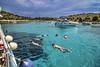 Swiming on boat Mikado (Kornati Excursions) Tags: kornatiexcursions kornati npkornati izletinakornate mikado zadar wwwmikadotourscom tours national park boattrip boat water summer lojena beach levrnaka