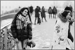 The smile_Nikon F3 (ksadjina) Tags: 12min 24x36 austria kodak100tmax nikkor85mm114 nikonf3 nikonsupercoolscan9000ed rodinal salzburg silverfast analog blackwhite film scan street winter