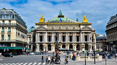 Palais Garnier : Outside view of Opera House, Paris, France (nilkpic1) Tags: nileshkhadsephotography nkphotography nikond7000 europe cityscape urbanphotography architecture palaisgarnier outsideviewofoperahouse paris france
