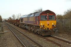 66184 Class 66 diesel locomotive (Roger Wasley) Tags: 66184 class 66 db ashchurch station gloucestershire diesel locomotive train engine railways corby bsc margam